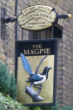 The Magpie, 12 New Street, London, EC2