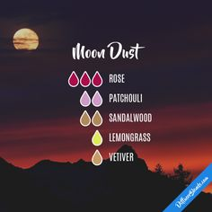 Moon Dust - Essential Oil Diffuser Blend