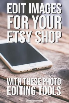 Handmade business owners - Edit images for your Etsy shop with these photo editing tools. Selling Crafts Online, Craft Online, Online Business Plan, Business Ideas, Craft Business, Business Articles, Sites Like Etsy, Photo Editing Tools, Editing Apps