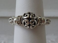 Stretch Ring   Bali Sterling Silver  Every by TheFamilyJewelsWI, $22.00