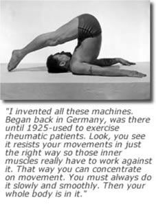 ~Joseph Pilates pilates arms