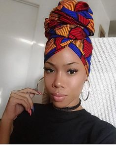 """970 Likes, 7 Comments - Wrap Queen™ (@wrapqns) on Instagram: """"Saaay what? Ice Tay wearing her ''Keke'' headwrap ❤️link in bio. Certified #Wrapqns…"""""""