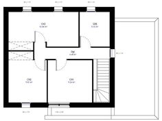 plan 2 de la maison individuelle habitat concept 27 - Plan Maison Plain Pied 200m2