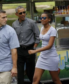 Father-Daughter Weekend   The Obama Diary