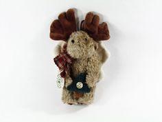 New Boyds Bears Mercer Moose Holding Tree Christmas Ornament #56171-03 Retired #Christmas