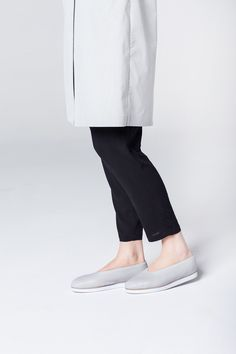 AVIR shoes color: light grey 100% natural cow leather, goat skin lining, foamed rubber sole  AVIR means air. They are soft leather shoes on a lightweight and comfortable sole. AVIR is suitable for every day's fast pace.