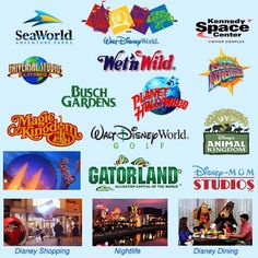 Orlando, Florida!  Soooo many things to do!  Start planning your family vacation now!