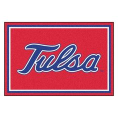 Tulsa Golden Hurricane NCAA Ulti-Mat Floor Mat (5x8')