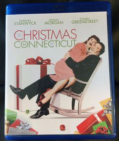 CHRISTMAS IN CONNECTICUT Blu-Ray (1945) • Barbara Stanwyck • Dennis Morgan