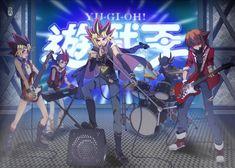 Yu-Gi-Oh! band, Yugi, Yami Yugi (Atem), Jaden (Judai) Yuki, Yusei Fudo, Yuma