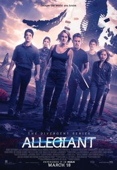 Tris is not Messing Around in this Latest Allegiant Poster