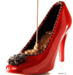 Edible Chocolate Shoes!