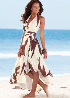 Neckholder Dress - Love the cut!