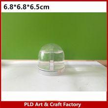 Mini Photo neige globe/Mini en plastique petite neige globe/Mini photo neige globe fabrication