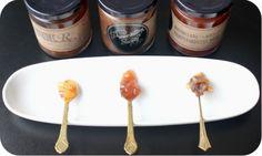 Marmalade Sampler - 3 marmalades with the wildest flavours. Pink Grapefruit, Marmalade, Pears, Bourbon, Lemon, Honey, Chocolate, Bourbon Whiskey, Chocolates