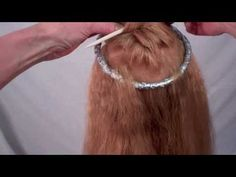 Empress Sabine: Ancient Roman Hairdressing  Janet does several roman styles with Period implements. Check out her other videos!