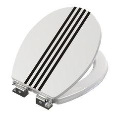 WC Sitz Stripes Wc Sitz Farben Wc Sitze Weiss 311411