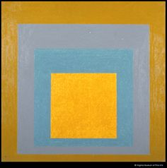 Study for Hommage to the Square Transmuted by Josef Albers. Eva Hesse, Josef Albers, 3d Artist, Abstract Art, Study, Collections, Fine Art, Expressionism, Frame