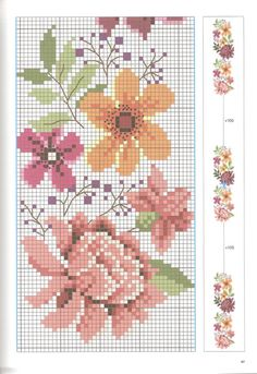 This Pin was discovered by Sal Tiny Cross Stitch, Cross Stitch Bookmarks, Cross Stitch Needles, Cross Stitch Borders, Cross Stitch Samplers, Cross Stitch Flowers, Cross Stitching, Cross Stitch Patterns, Baby Embroidery