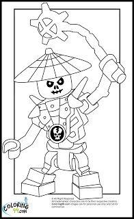 LEGO Ninjago Skulkin Coloring Pages