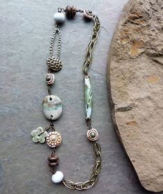 Lorelei Eurto necklace, via Flickr