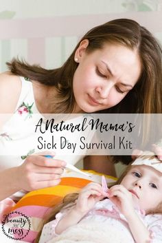 Sick days are bound to happen when you have kids. With school back in session, cold and flu season starting up, and more people staying inside due to colder weather, there's just no way to avoid it forever. Luckily you can help your child bounce back and keep them content while they heal. With these tools, you