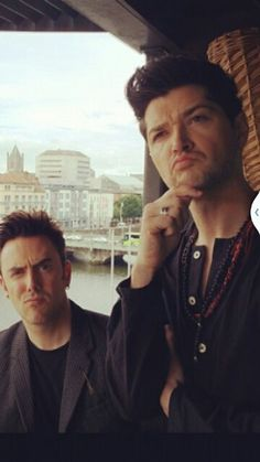 Glen and Danny Great Bands, Cool Bands, Danny The Script, Danny O'donoghue, The Power Of Music, Pop Rock Bands, One Republic, Soundtrack To My Life, Music Is Life