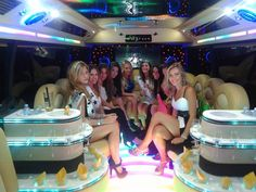 Limobus and girls , perfect match !