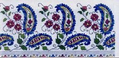 This Pin was discovered by Wan Cross Stitch Bookmarks, Mini Cross Stitch, Cross Stitch Borders, Cross Stitch Flowers, Cross Stitch Designs, Cross Stitching, Cross Stitch Embroidery, Embroidery Patterns, Hand Embroidery