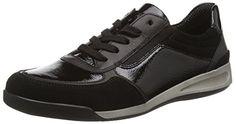 ara Rom, Damen Sneakers, Schwarz (schwarz -06), EU 42 (UK 8 / US 10.5) - http://on-line-kaufen.de/ara/42-eu-8-uk-10-5-us-ara-rom-damen-sneakers-2