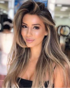 Ombre Awesome Blonde Balayage Hair Colors Shades to Wear in 2019 - . Alpingo Balayage , Awesome Blonde Balayage Hair Colors Shades to Wear in 2019 - . Awesome Blonde Balayage Hair Colors Shades to Wear in 2019 - Balayage Blond, Hair Color Balayage, Blonde Highlights On Dark Hair, Balyage Long Hair, Blonde Color, Blonde For Brunettes, Brunette Hair Colors, Hair Ideas For Brunettes, Brown Hair With Blonde Balayage