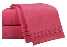 1800 Thread Count Microfiber Flamingo Bed Sheet Set