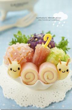 Prato infantil caracol