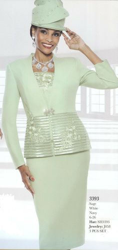 Mariam's Fashion - Church Suits For Women Susanna 3393, $119.99 (http://www.mariamsfashion.com/church-suits/church-suits-for-women-susanna-3393/)