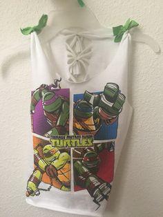Tmnt girls shirt