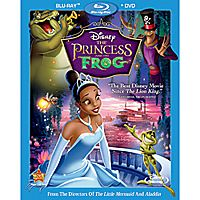 The Princess and the Frog - 2-Disc Combo Pack
