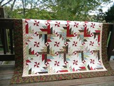 """State of Grace quilt pattern from """"Strip Clubbing"""" book."""
