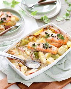 Cooking Recipes, Healthy Recipes, Pasta Salad, Potato Salad, Potatoes, Nutrition, Ethnic Recipes, Parfait, Food