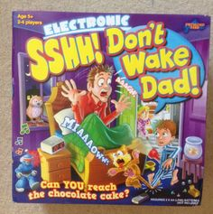 Sshh! Don't Wake Dad - review and giveaway - Over 40 and a Mum to OneOver 40 and a Mum to One
