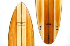 """Grain Surfboards build stunningly beautiful boards from locally sourced white cedar, they offer """"ready to surf"""" boards as well as kits..."""