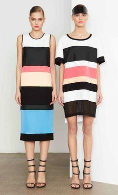 DKNY Pre Fall Trend Stripes Vogue