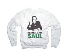 Better Call Saul BREAKING BAD Sweater Black Unisex Sweatshirt Saul Goodman Funny Lawyer Shirt