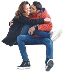 Couple sitting in bracing People Cutout, Cut Out People, Photoshop Rendering, Photoshop Elements, Render People, People Png, Architecture People, People Poses, Anatomy Poses
