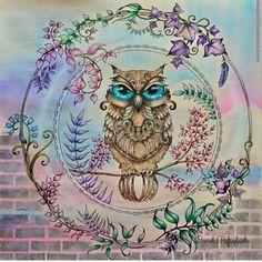 Fico simplesmente apaixonado pelo trabalho da @ginapafiadache  #jardimsecreto #johannabasford #johanna_basford #livrodecolorirparaadultos #terapiadascores #antiestresse #amocores #colorslovers #colouredpencil #mycolorfulmoment #jardimsecretotop #jardimsecretoinspire #nossojardimsecreto #lapisdecor #desenho #cores #pintar #colorir #degrade #colouringbookforadults #colouringbook #passoapasso #florestaencantada #enchantedforest #secretgarden #nossojardimsecreto  #sorteios  #sorteio