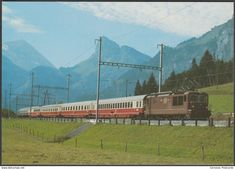 "Elektro-Schnellzug-Lokomotive R Nr 161 - Reiju AK "" Postcards For Sale, Trains, Locomotive, Train"