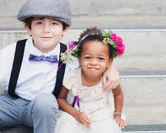 Flower girl halo.  Flowers by Lee Forrest Design, photo by Sarah Bray Photography