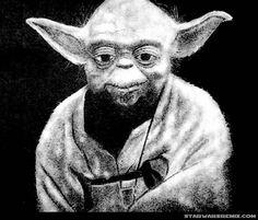 Salt Yoda from artist Bashir Sultani #StarWars