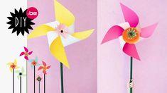 DIY : Des moulins à vent géant