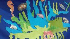 Decoración algas marinas