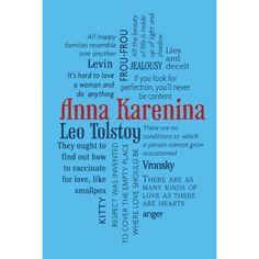Amazon.com: Anna Karenina (Word Cloud Classics) (9781607108153): Leo Tolstoy, Constance Garnett book cover